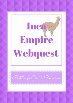Inca Empire Webquest