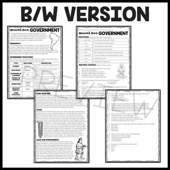 Inca Government, Mesoamerica, Ancient Civilizations, Inca