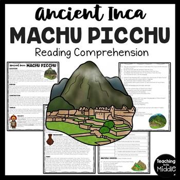 Inca Machu Picchu, Mesoamerica, Ancient Civilizations, Incas