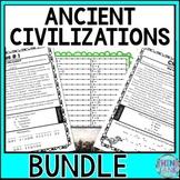 Inca, Maya, Aztecs ESCAPE ROOM BUNDLE: Ancient Civilizations