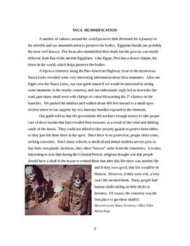 Inca Mummification  (revised 2016)