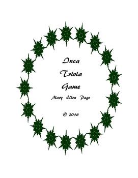 Inca  Trivia  Game