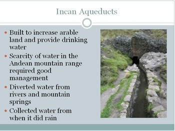 Inca Unit Plan