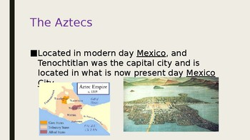 Inca and Aztec Lecture