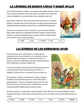 Inca - legends
