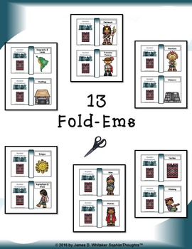 Incan Civilization Interactive Mini Research Fold-Ems and Activities