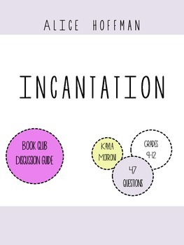 Incantation by Alice Hoffman Book Club Discussion Questions