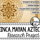 Incas, Mayans, and Aztecs Guided Research Project