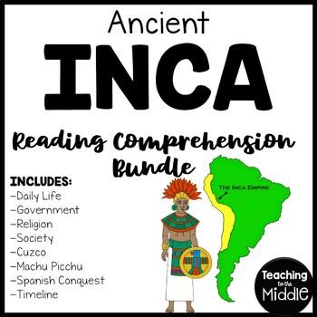 Incas Reading Comprehension Bundle; Mesoamerica