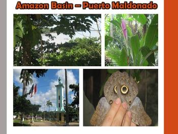 Incas and Francisco Pizarro Virtual Field Trip (Peru) PowerPoint South America