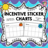 Incentive + Behavior + Reward Sticker Charts