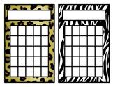 Incentive Chart Animal Print