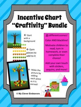 Incentive Chart Craftivity Bundle