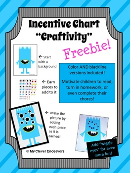 Incentive Chart Craftivity Sample