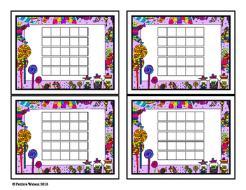 Incentive Chart or Reading Log: Candy Theme