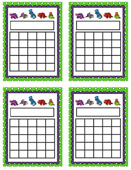 Incentive Chart {Dinosaurs}