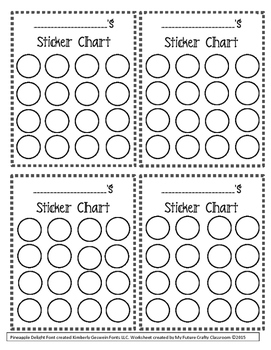 Incentive chart freebie by hooray for 1st grade tpt