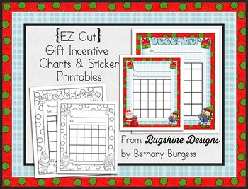 Incentive Chart & Sticker Printables {December & Gifts}