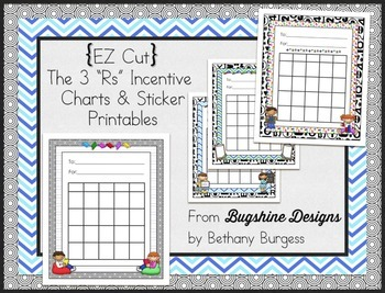 Incentive Chart & Sticker Printables {The 3 R's}