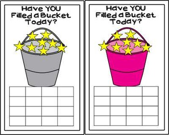 Dollar Deal ~ Incentive Charts ~ Bucket Fillers