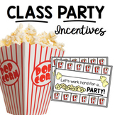 Incentive Charts Class Party Behavior Punch Out Cards - En