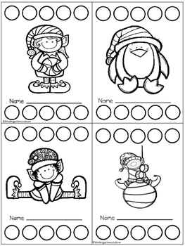Incentive Charts Freebie for December and January