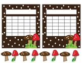 Incentive Charts Mushrooms on Dots