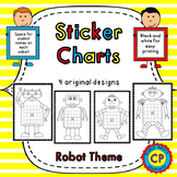 Incentive Charts - Robot Sticker Charts