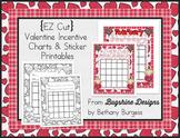 Incentive Charts & Sticker Printables {Valentine & February}