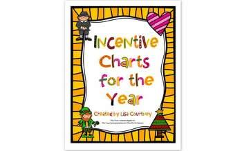 Incentive Charts - Year Long - Holidays, etc...