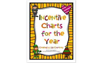 Incentive Charts - Year Long - Holidays, etc...
