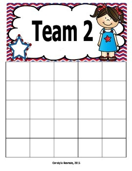 USA Kids Incentive Charts and Labels to Support Classroom Management