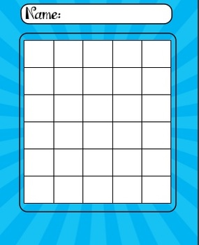 Incentive Charts for Homework or Behavior