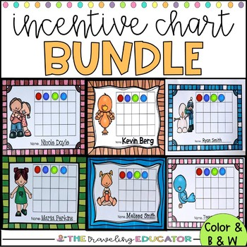 Incentive Charts for the Whole School Year Bundle