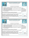 Incentive: Homework Skip or Redo Coupon