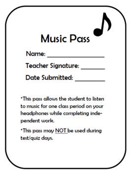 Incentive Passes