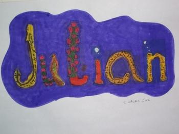 Incentive: Picture name Julian