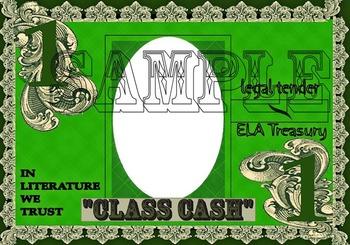 "Incentive Program- ""CLASS CASH"" Grayscale $1 & $5"