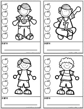 Incentive Punch Cards: Boy and Girl Theme
