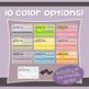Incentive Punch Cards: Chevron Design