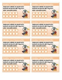 Incentive Punch Cards - Rockin and Responsible