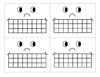 Incentive Sticker Chart - Smiley Face