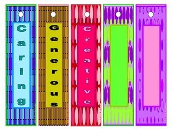 Incentive and Rewards Bookmarks-Checkers and Polka Dots