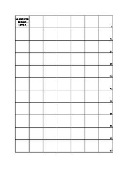 Incentive track sheet