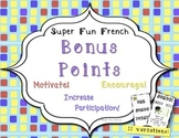 Incentives: Printable Bonus Points & Rewards motivate & in