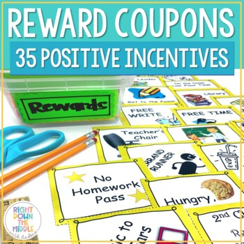 Reward Coupons for Middle and High School Students