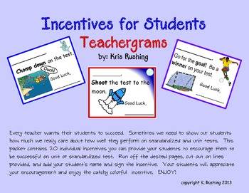 Incentives for Students - Teachergrams