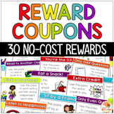 Reward Coupons: No Cost Student Reward Cards and Certificates