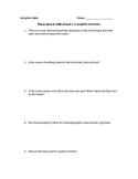 Inception Cinematography Quiz