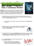 Inception Movie Worksheet for Psychology